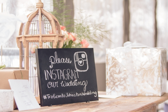Wedding Hashtag A Popular Wedding Trend