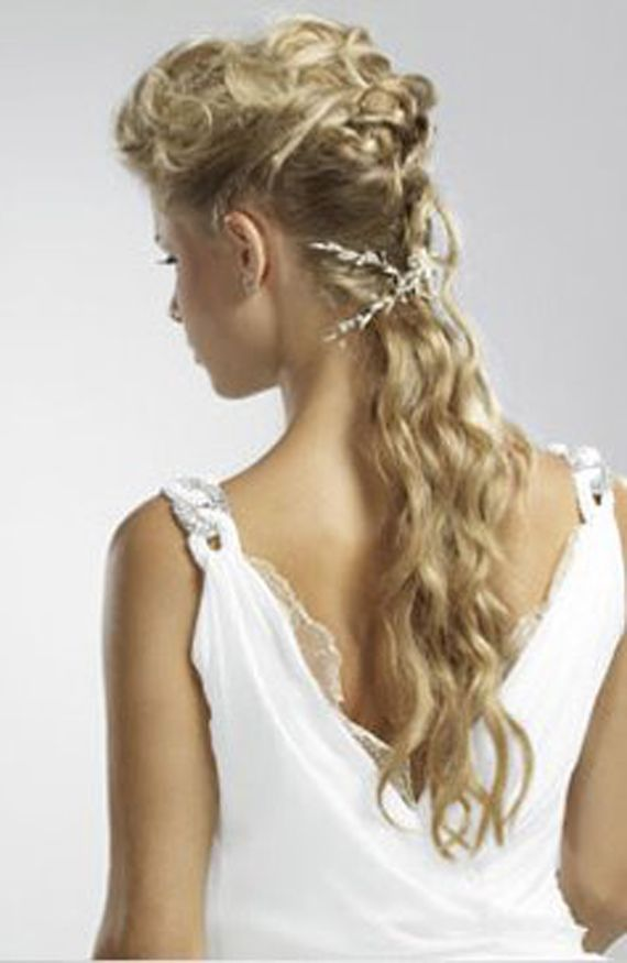 Ancient Greek Wedding Hairstyles
