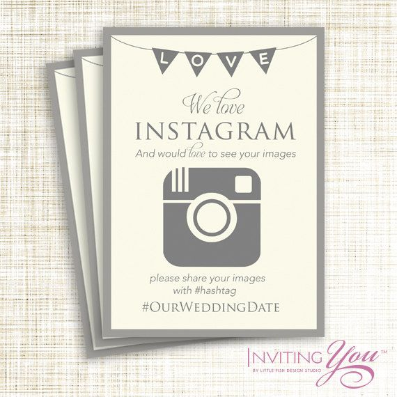 Wedding hashtag – A popular wedding trend