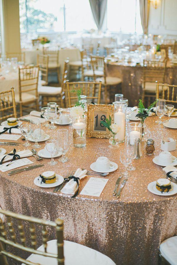 sequin tableclothe