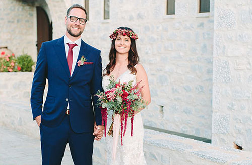 Wedding in Mani Greece